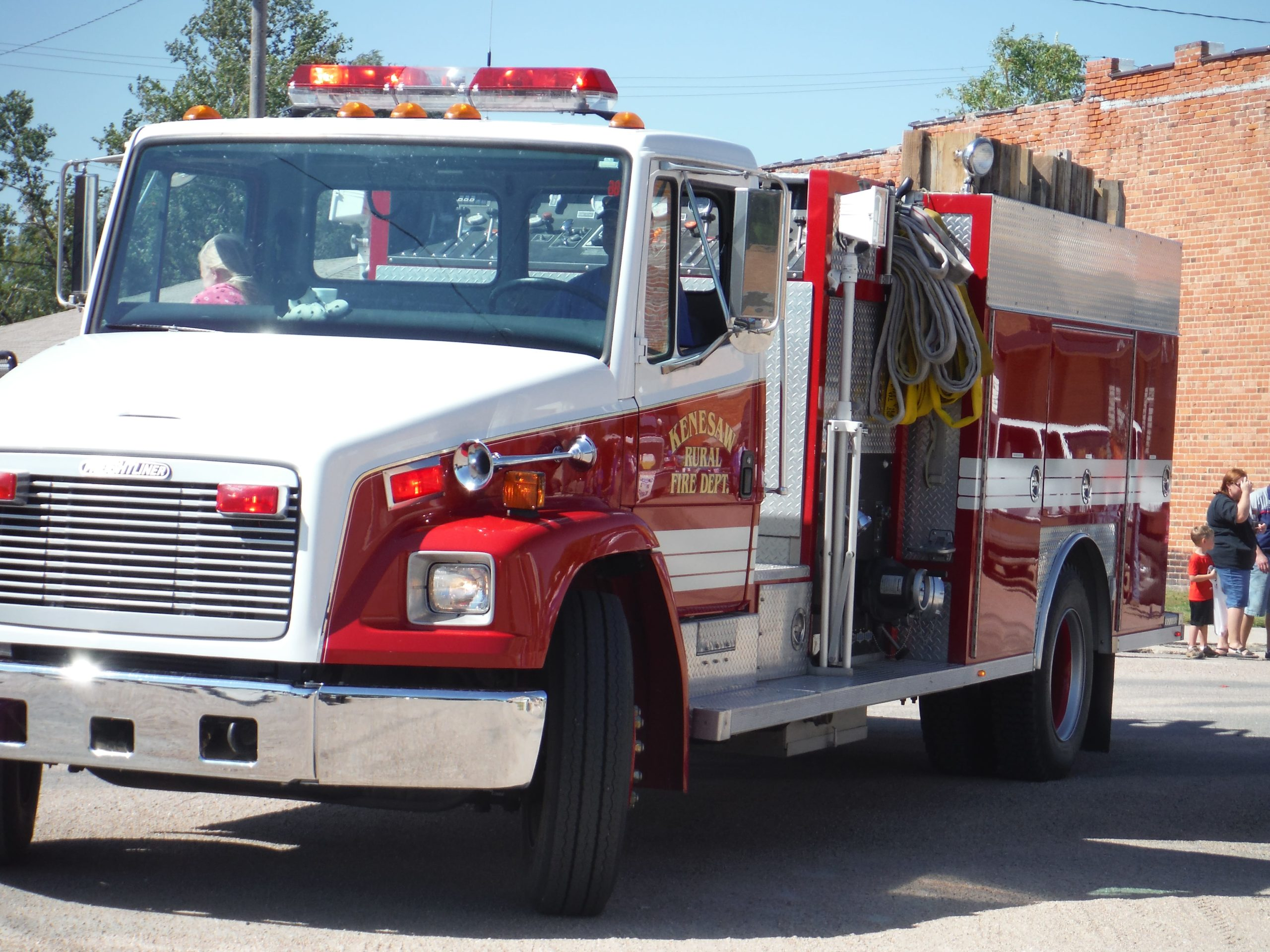 kenesaw fire department truck