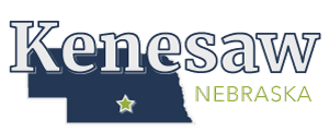 Kenesaw, Nebraska Logo