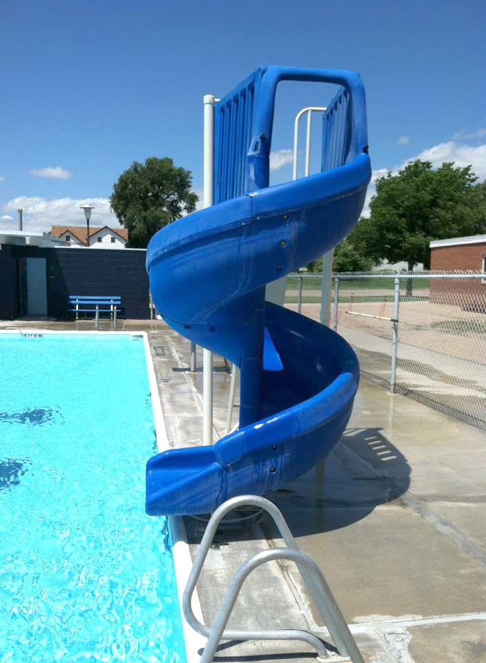 kenesaw pool water slide