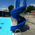 kenesaw swimming pool slide
